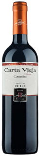 Vinho Carta Vieja Clásico Carmenere 750 ml