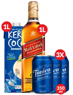 Combo Highball Johnnie Walker Red Label