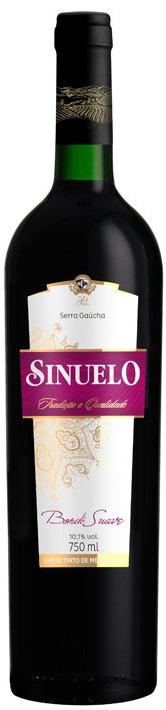 e3048ea85 Vinho Sinuelo Tinto Suave 750 ml - Imigrantes Bebidas