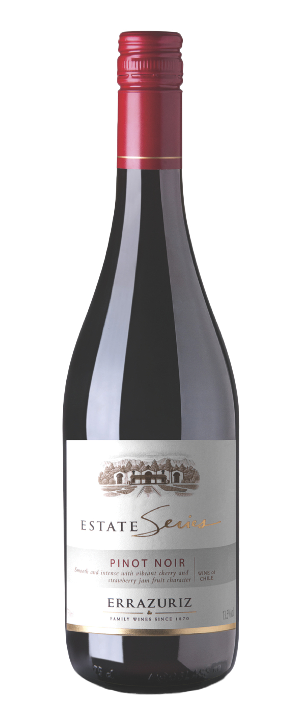 60d5ff5fc Vinho Errazuriz Estate Series Pinot Noir 750 ml - Loja Bebida e Bebidas
