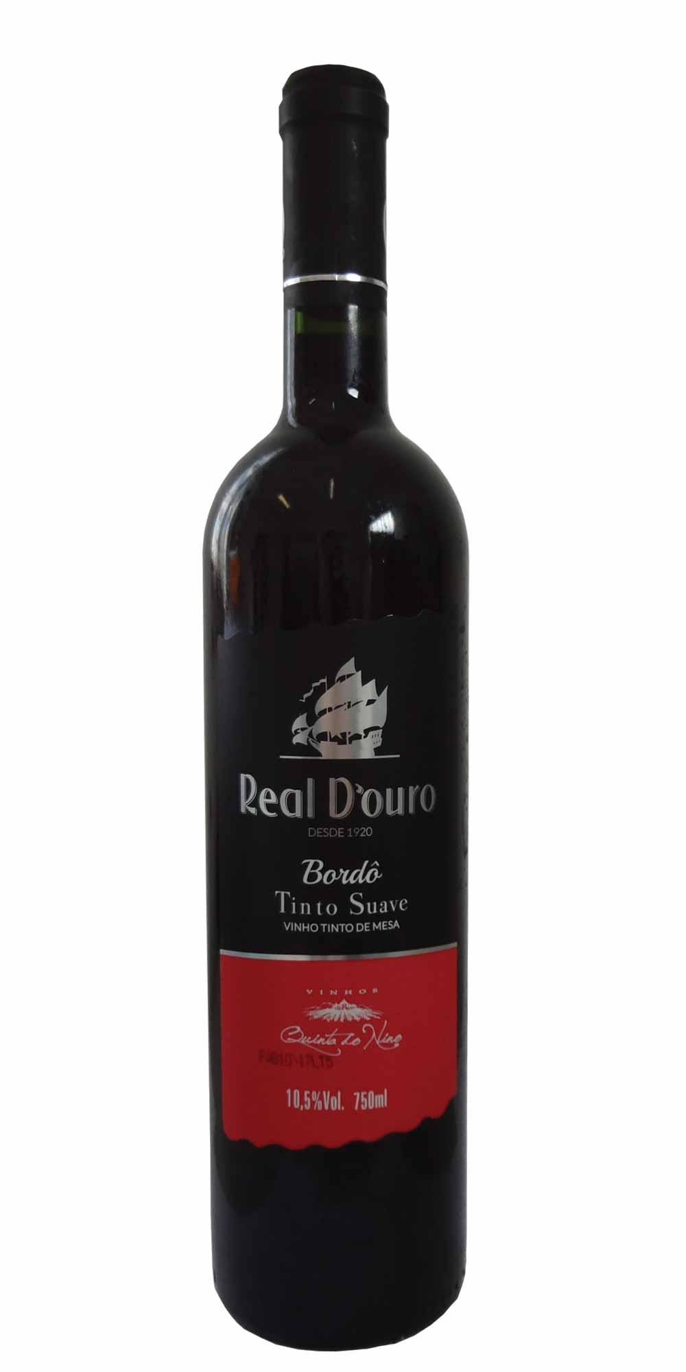 0627471fb Vinho Real D Ouro Tinto Suave 750ml - Loja Adegadovinho.com.br