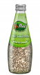 BeThai Basil Seed Drink White Grape (Uva Branca) 290ml